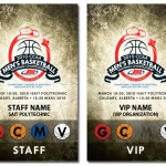 2010 CCAA Men's Basketball National Championship Accreditation Passes