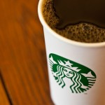 Starbucks Coffee Cup with new logo