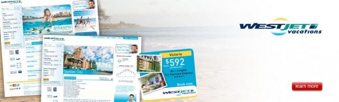 WestJet Vacations: Website, Advertising, SEO